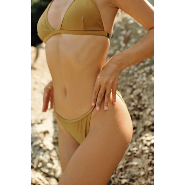 Gypsea Bikini brief- Gold