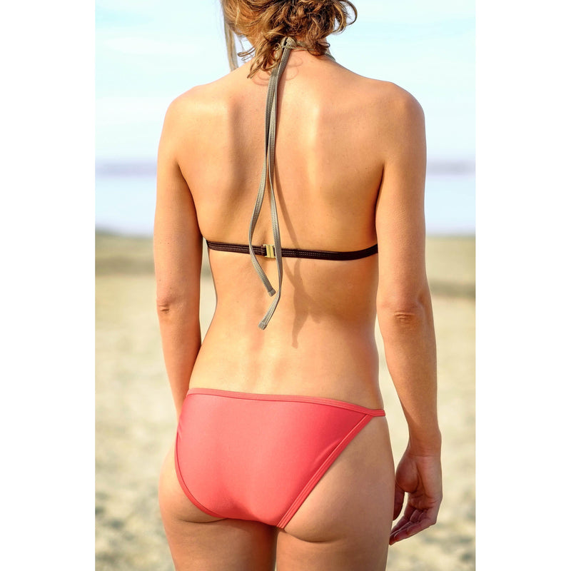watermelon fixed string bikini brief