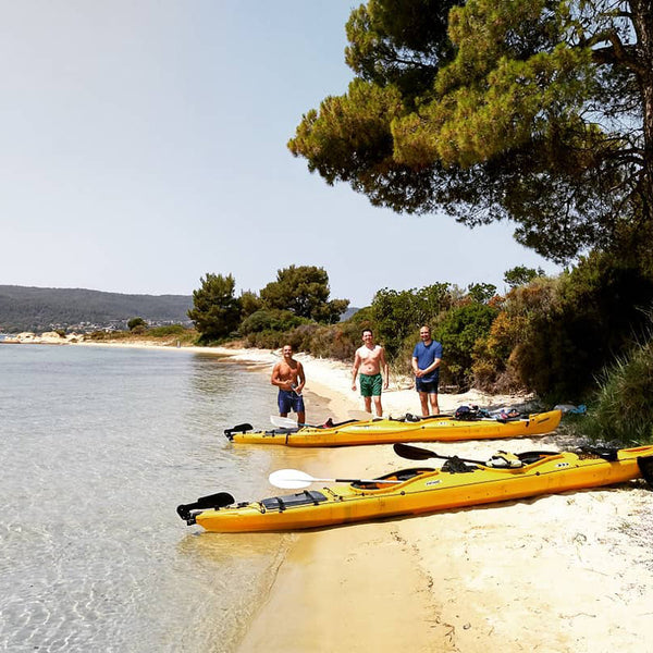 3 Days sand, sea and river – a lot of everything. Unforgettable kayak trip.