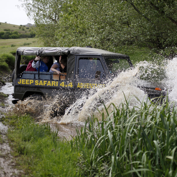 Jeep safari adventure - off-road driving, shooting, lunch and more surprises. Sunny Beach