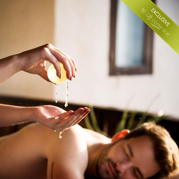 """High performance energizer"" body therapy for the gentlemen"