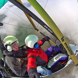 Panoramic flight with a motor hang glider over the slopes of Rila or over 5 dams.