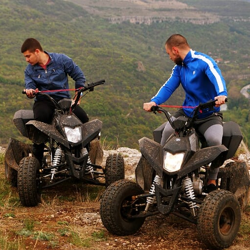 Off-road adventure with ATV. Veliko Tarnovo and Arbanassi