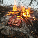 BBQ in the woods for two, Lozen mountain