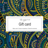 Giftcometrue gift card
