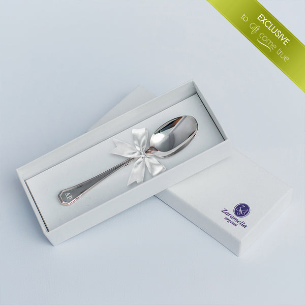 Personalized Silver Spoon