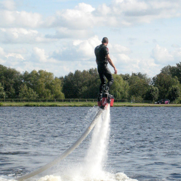 Flyboard or hoverboard on Iskar Dam