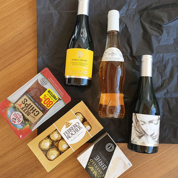 Boutique Wine Tasting Box