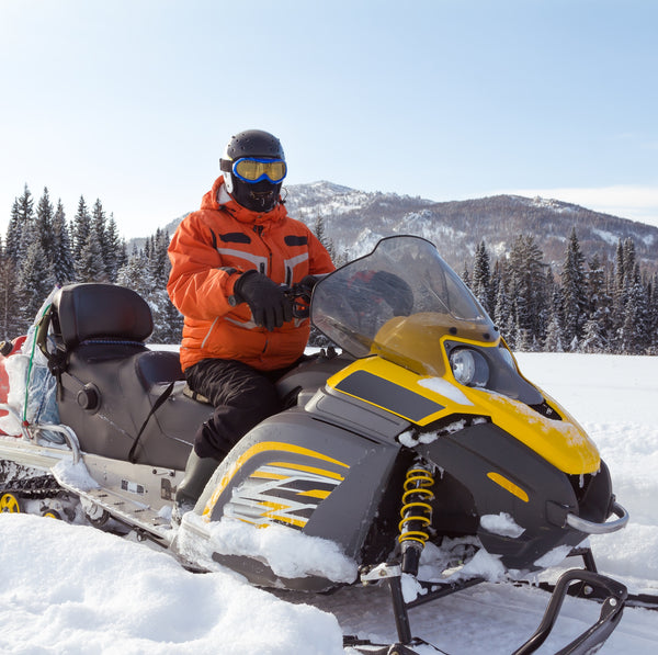 Snowmobile ride through Rila Lakes, Rila and Pirin