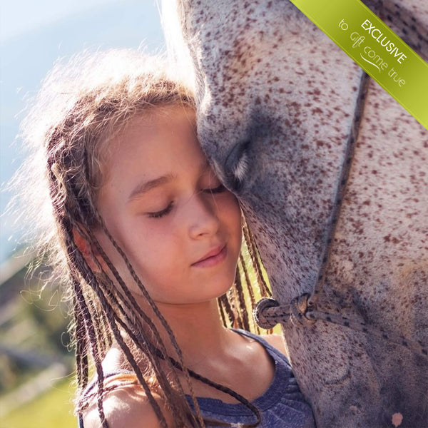 Communicating with horses for children. Emotionally and intelligently, instructively and healthily