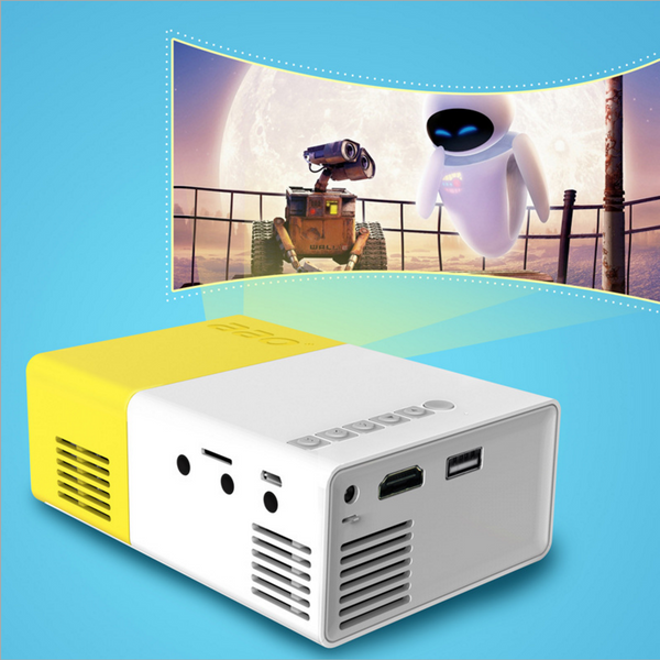 Dailymobilegear™ 1080P Mini Portable LED Projector