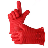 1 Pcs Anti-hot Five Fingers Silicone Gloves