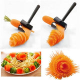 2 Pcs Fruits and Vegetables Roll Flower Tools
