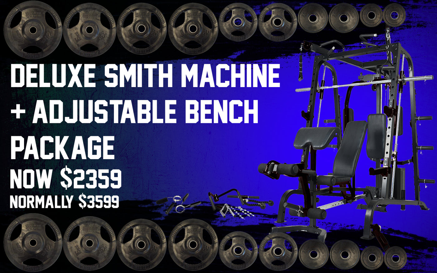 Gym equipment fitness equipment weight training commercial & home