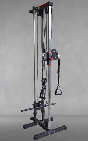FT1003 Muscle Motion Wall Mounted Dual Pulley Tower