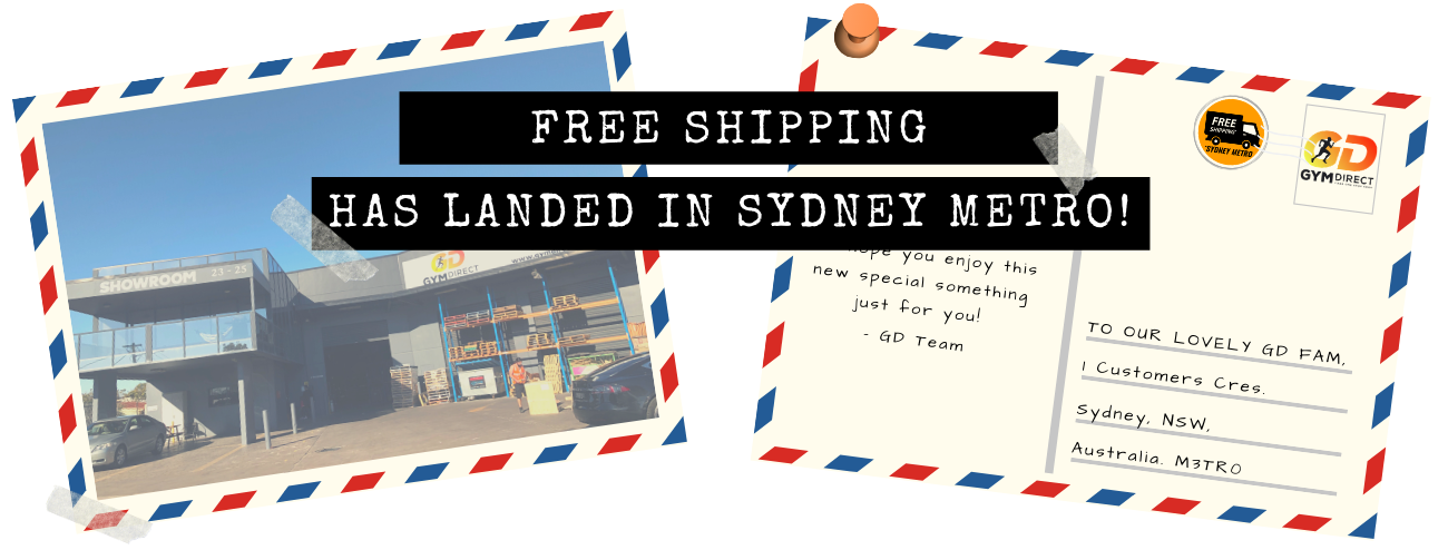 Free Shipping has Landed in Sydney Metro! Terms and Conditions Apply.