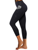 3D Print Yoga Pants with Side Pocket 22 inch inseam BWSB033