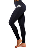 3D Print Yoga Pants with Side Pockets 26 inch inseam BWWB029