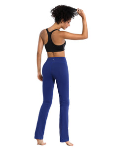 "BUBBLELIME 87N/13S Straight Yoga Pants 29""/31""/33""/35"" inseam (Color 2)"