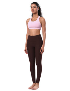 "BUBBLELIME 87N/13S No Front line Yoga Pants 26"" inseam"