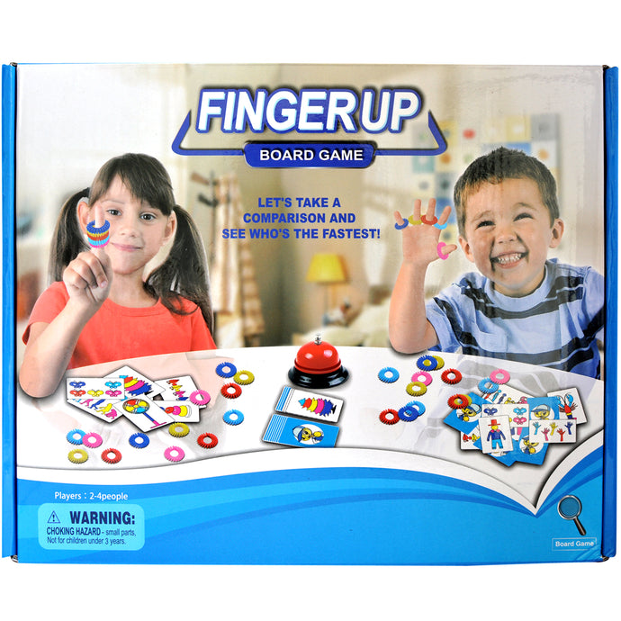 Fingers Up Game Unique Board Game | Best Family Game - Trinkets & More