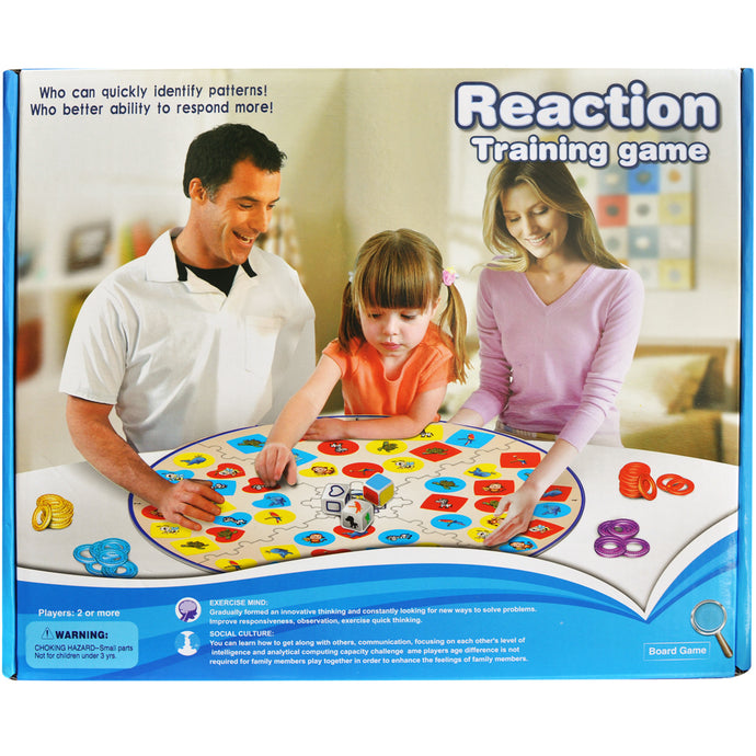 Reaction Training Unique Board Game | Family Games for Kids and Adults - Trinkets & More