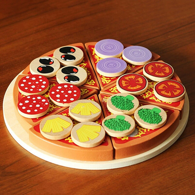 18 Toppings Pizza Set | Kids Kitchen Set Collection | Role Play Toys - Trinkets & More