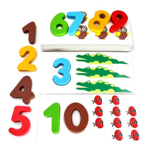 3D Wooden Puzzles | Arithmetic Digital Numbers Animals Insects - Trinkets & More