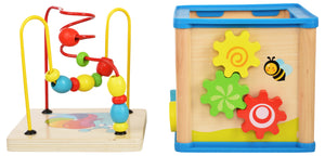 Activity Centre Play Cube Learning House (5-in-1)