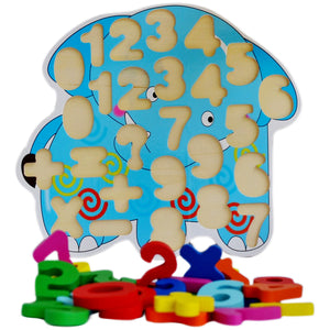 123 Number Learning Blocks | 0 - 100 Double Digits - Trinkets & More