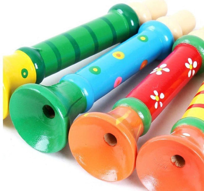 Colourful Trumpets | Kids Musical Instrument (Set of 2) - Trinkets & More