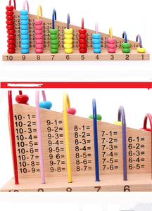 Calculation Shelf | Abacus for Math Skills - Trinkets & More