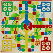 2 in 1 Premium Chinese Checker Board with Wooden Marbles and Ludo - Trinkets & More