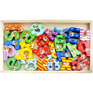 Chunky ABC Learning Blocks | Beautifully Crafted Brightly Coloured - Trinkets & More