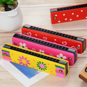 Colourful Harmonica | Musical Instrument for Kids - Trinkets & More
