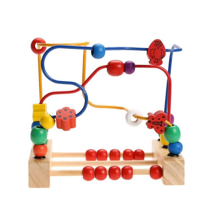 Beads Maze (30 Pieces) | Activity Centre and Roller Coaster