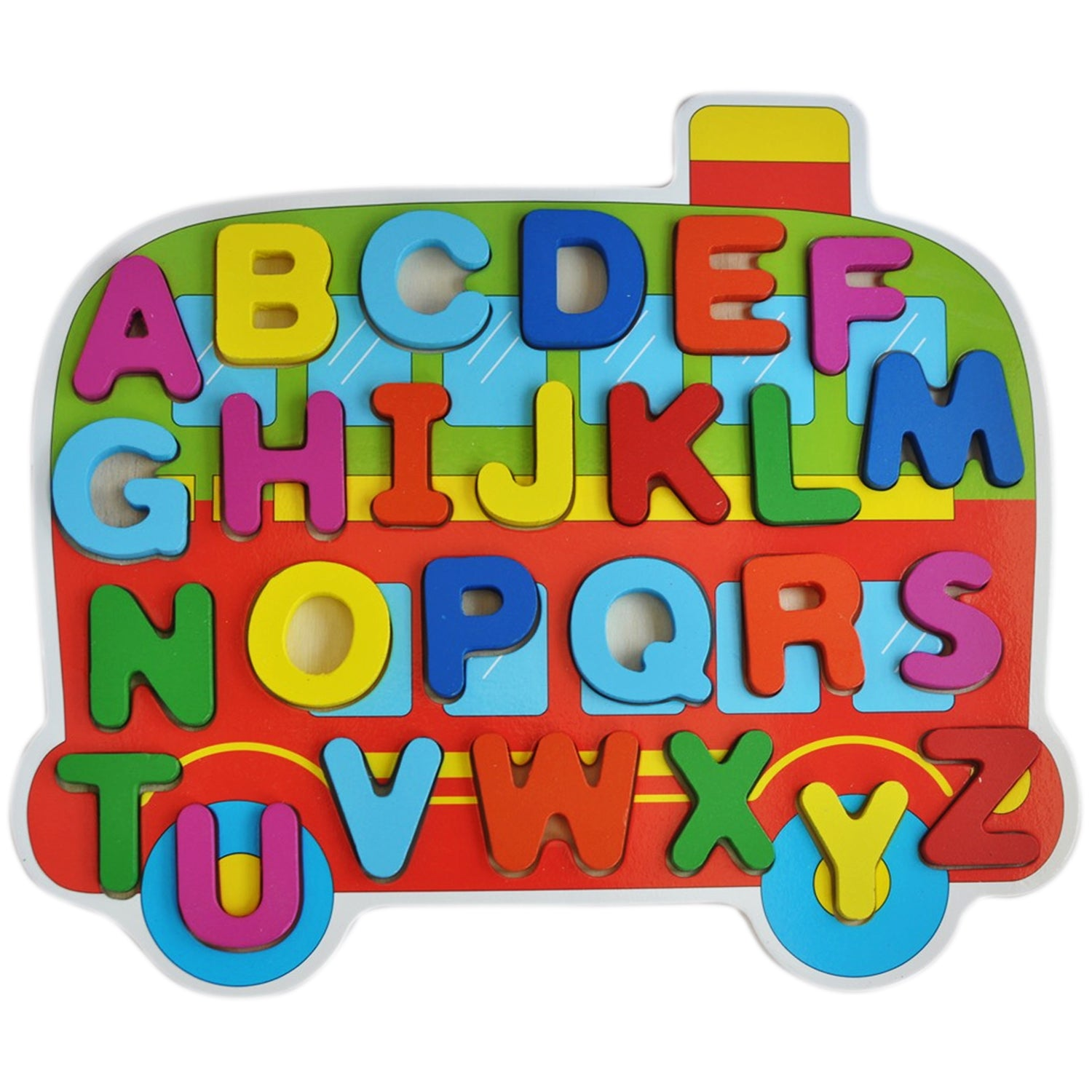 Trinkets & More Wooden ABC Learning Blocks