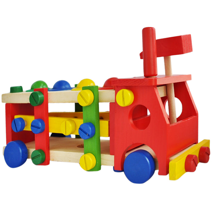 Screw Car Vehicle | Reassembly Multifunction Building Blocks - Trinkets & More
