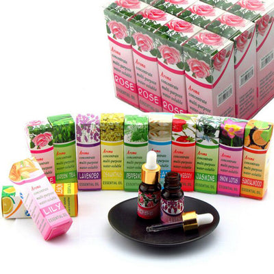 5pcs Aroma Plant Water Soluble Essential Oil For Humidifier