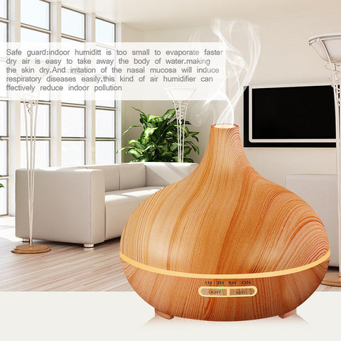 Air Purifier with LED Lamp