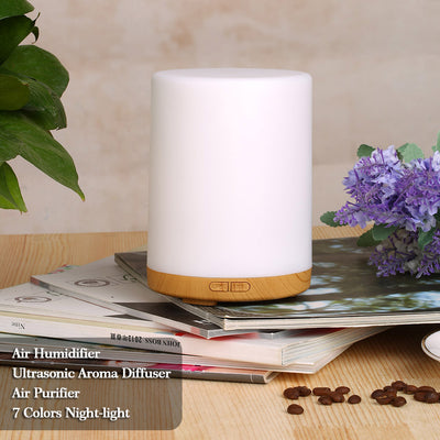 Ultrasonic Aroma Essential Oil Diffuser with Light