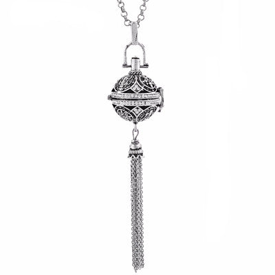Chime Harmony Essential Oil Diffuser Tassel Necklace