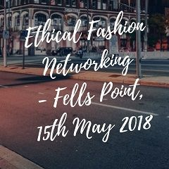 Ethical Fashion Networking Baltimore - 4-15-2018