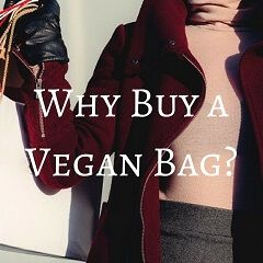 Why Buy A Vegan Bag?