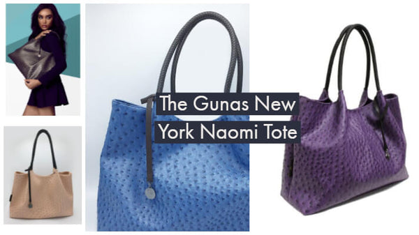 Gunas New York Naomi Tote - from Recycled materials