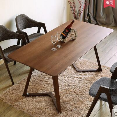 Koivu Ruokailu Minimalist Solid Birch Dining Table