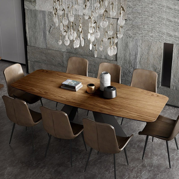 Puinen Pöytä Wooden Dining Table and Chair Set