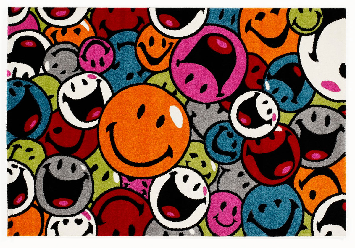 Teppich Happiness Smile Multicolor