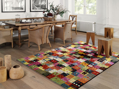 Teppich Happiness Pardis Multicolor