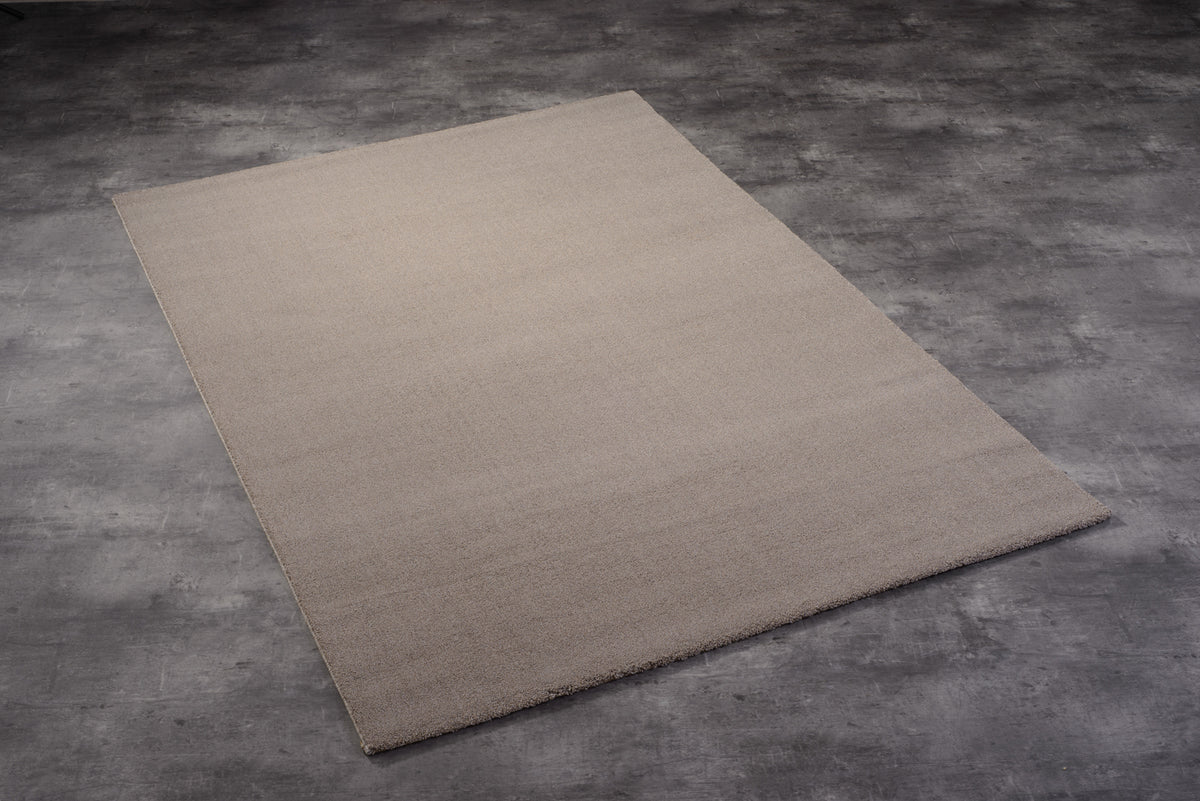 Teppich Louvre Melange Taupe